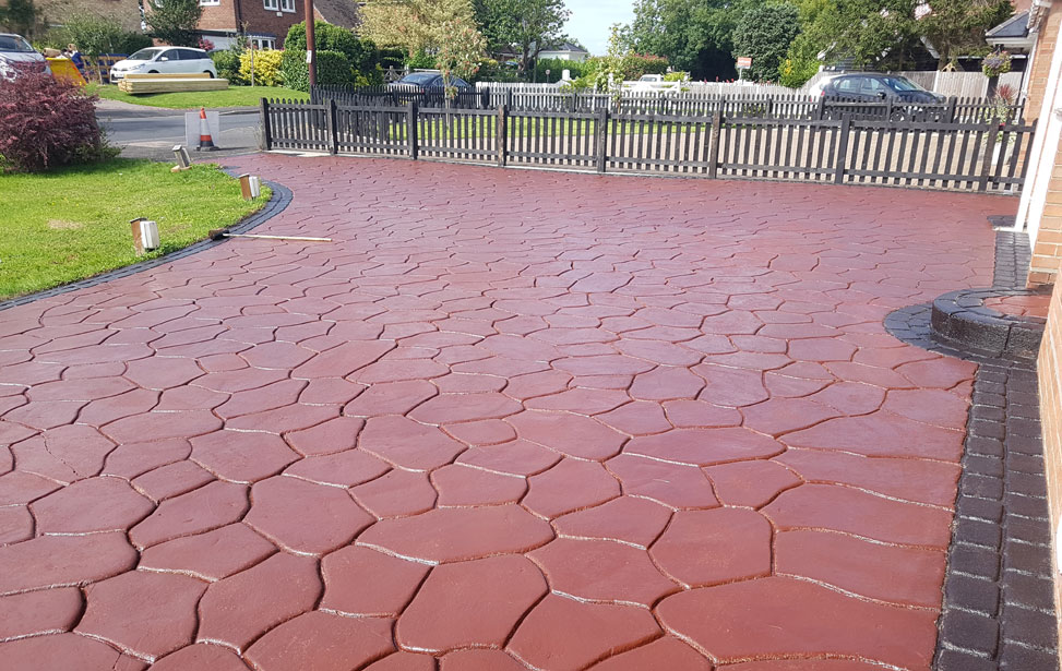 Pattern Imprinted Concrete Cleaning