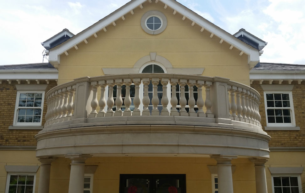 Balustrade and Stone Cleaning